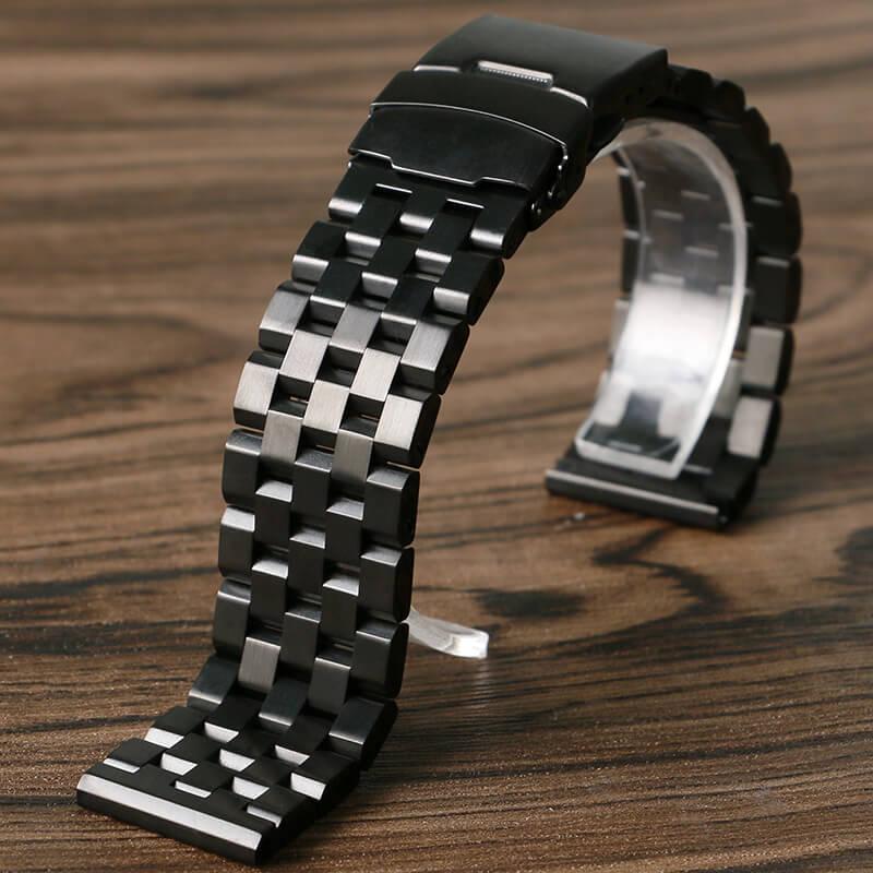 Bracelet Acier inox Noir