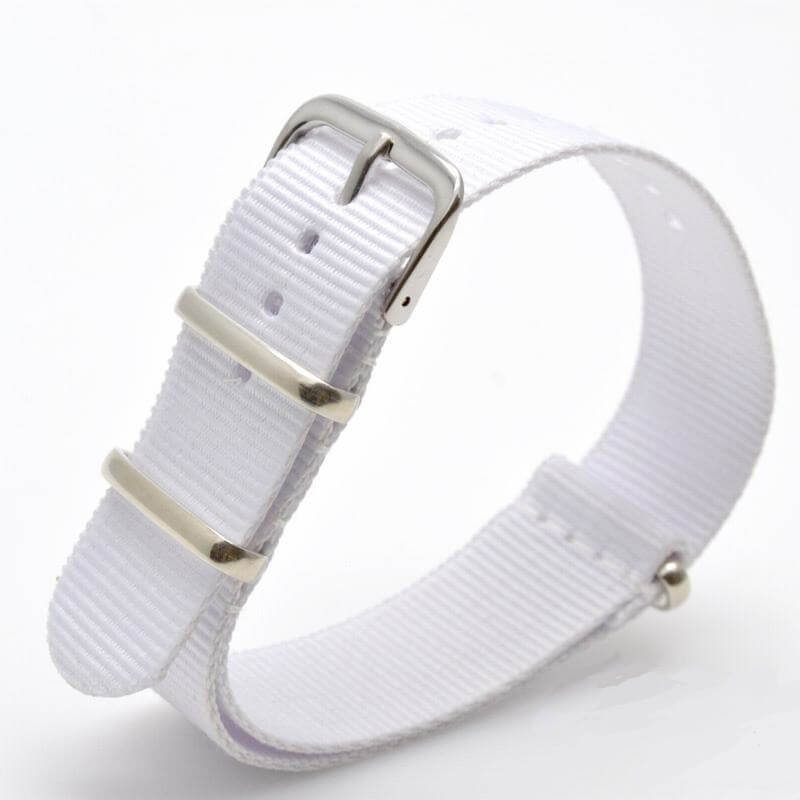 Bracelet Nato Blanc Montres