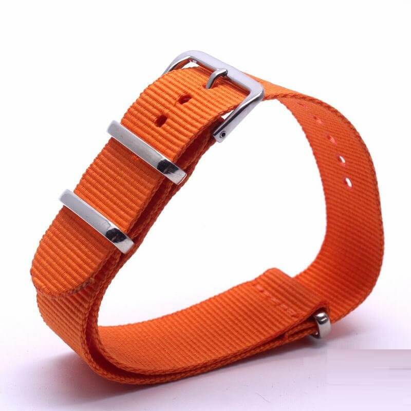 Bracelet Nato Orange Montres